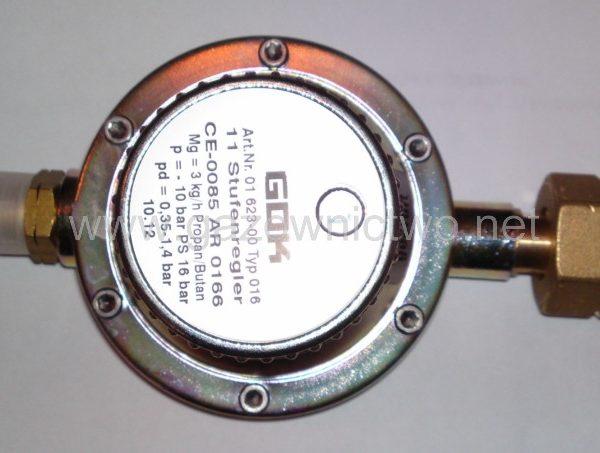 Reduktor gazowy nastawny 3kg