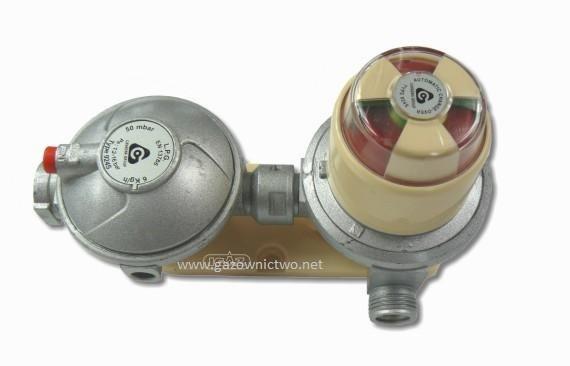 Reduktor półautomatyczny do butli 30 lub 33 kg